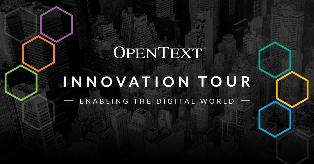 OpenText Innovation Tour 2016/7